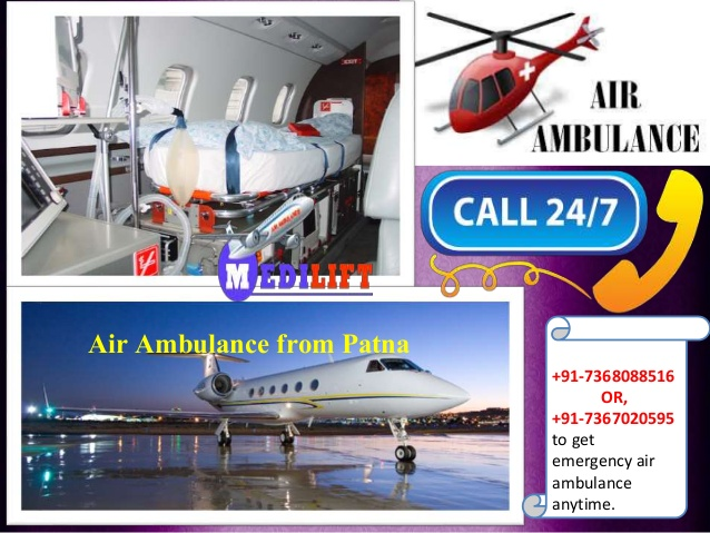 Air Ambulance from Patna