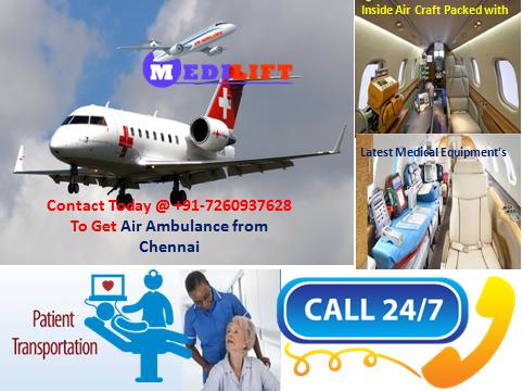 Air Ambulance Service in Chennai