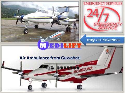 Air Ambulance from Guwahati