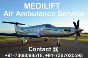 Air Ambulance from Gaya Medilift